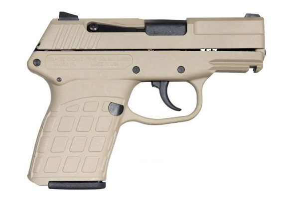 KEL TEC PF-9 9mm Tan Cerakote